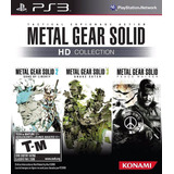 Metal Gear Solid Hd Collection (nuevo Sellado) - Ps3