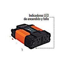 Inversor Convertidor Corriente Auto 400 W Dual 12- 120 V Usb