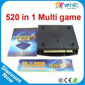 Placa Cartucho Multijogos Pandora Box 3 520 Jogos