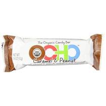 Ocho Orgánica Barra De Caramelo Del Caramelo Y Maní 1.4 Onza