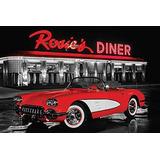 Comedor Noche Lámina Cartel De Rosie