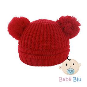 Bebê Touca Gorro Lã Mickey Inverno Enxoval Infantil