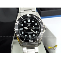 Relógio Seiko 5 Sport Automatico Snzf17k1 23 Jewels - Orig