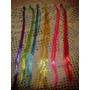 Apliques De Colores Para El Pelo Nenas Souvenirs Spa (30u)