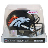 Nfl Denver Broncos Mini Casco Modelo Speed By Riddell
