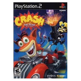 Crash Bandicoot Tag Team Racing Ps2 Patch Frete Unico