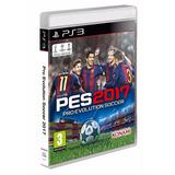 En Español Ps3 Fisico Pro Evolution Soccer 2017 Pes 17