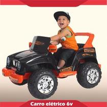 Jeep Desert Preto 6 Volts - Original Biemme