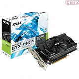 Placa De Vídeo Msi Geforce Gtx 750ti 2gb Nvidia 12x S/ Juros