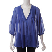 Blusa Azul My Be Loved