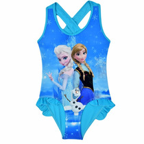 Traje De Baño Frozen Y Elsa