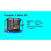 Trampolin Brincolin Chico 2.40mts 8 Pies Venta Reaparacion