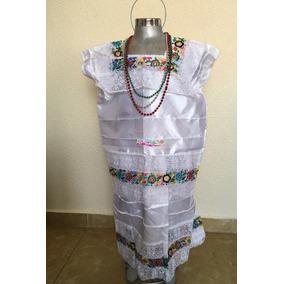 Vestido Yucateco Niña Vestuario Regional Yucatan