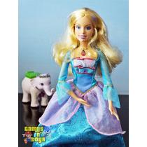 Barbie Rosella Do Filme Princesa Da Ilha E Elefante Mattel