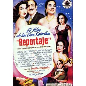 Lienzo Tela Cartel Película Reportaje Dolores Del Río 1940