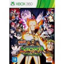 Naruto Storm Revolution Mídia Física Lacrado Xbox 360