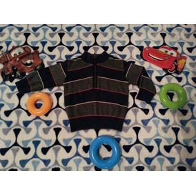 Suéter Para Bebé A Rayas Marca Campanita 12 Meses