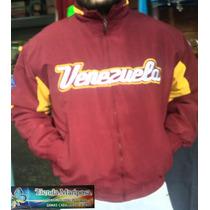 Oferta Chaqueta Vinotinto De Venezuela De Tela