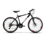 Bicicleta Aro 26 Skynano, 24v, Kit Shimano, Disco, Sem Juros
