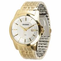 Relógio Orient Dourado Masculino Em Promoção Mgss1039