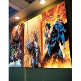 Cuadros Triptico, Marvel, Dc Comic, Anime, Niños Y Adultos