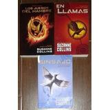 Los Juegos Del Hambre, Los 3 Tomos-suzanne Collins- Libros