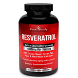 Resveratrol 1400 Mg X 60 Capsulas Veggie - Divine Bounty