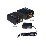 Convertidor Audio Digital Optico Coaxial Rca Analogico Bagc