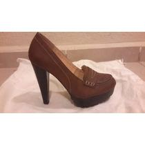 Zapato Dama Color Café Marca Verochi
