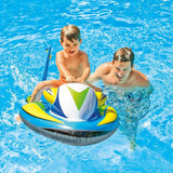 Muñecos Piscinas Sumergibles Moto De Agua Inflable