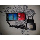 Celular E71 Com 3 Chips, Tv, Cartão Sd ,duas Câmeras