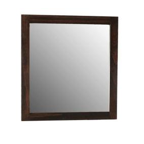 Espejo wengue hogar muebles y jard n en mercado libre for Espejo marco wengue