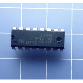 3 X L293 Ci L293d Ponte H Dupla Para Motor De Passo Arduino