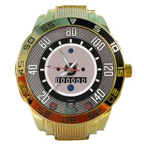 e7fbc373342 Relogio Detroit Dourado - Relógios no Mercado Livre Brasil