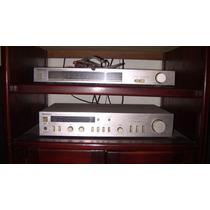 Technics Planta+radio+cassete+plato+cornetas.