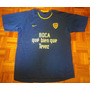Remera/camiseta De Algodón Y Dry Fit Boca Jrs. Xl Original