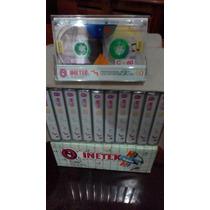 Caja De 10 Cassettes C-60 Audio,desarmable.(nono48)