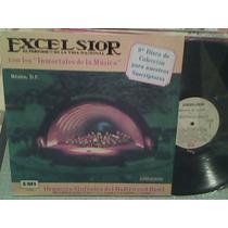 Disco Lp De Acetato Excelsior, Inmortales De La Musica