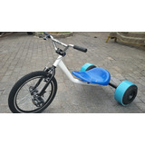Drift Trike Dream Bike C/ Pedal E Rodas De Kart - Novo