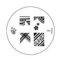 Placa Nail M81 Stamping Art Konad Original