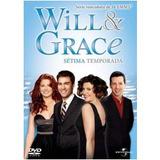 Will & Grace 7ª Temporada C/ 4 Dvds + Luva Lacrado Original