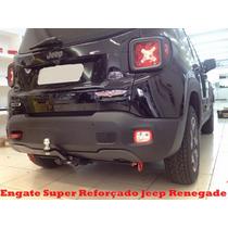Engate Removível Super Reforçado Jeep Renegade 750 Kg