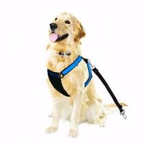 Cinto De Segurança Cães Grandes Peitoral E Adaptador Guia