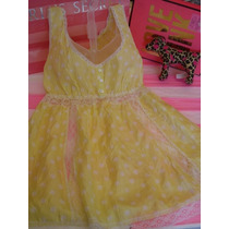 Victorias Secret The Pink Vestido Para La Playa Seda Sz S