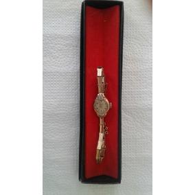 Relógio Todo Em Ouro 18k, Suíço, Vintage, Marca Gold Matic