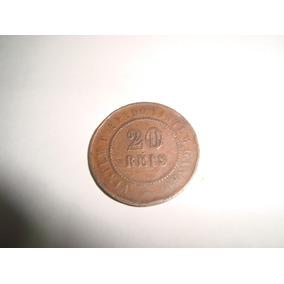 Moeda Antiga Em Cobre De 20 Réis De 1889 Valorize A Sua Cole