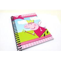 Mini Libreta 13x9cm Peppa Pig Princesa Sofia Frozen Masha