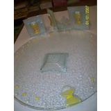 Fuente Para Torta Comunion 32cm. 3 Porta Vela