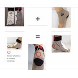 Kit Meia Eletrônica+tornozeleira Eletrônica Daedo Tk Strike