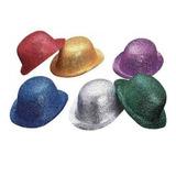 Gorro Bombin C/ Purpurina De Plástico Varios Colores
